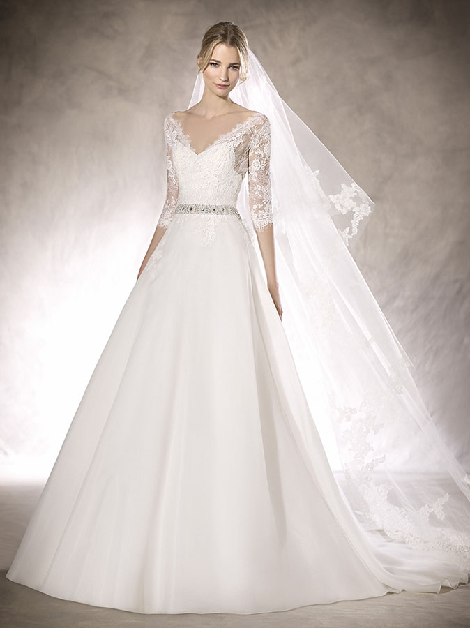 Vestiti da Sposa, Abito da Sposa Modello HALFRID
