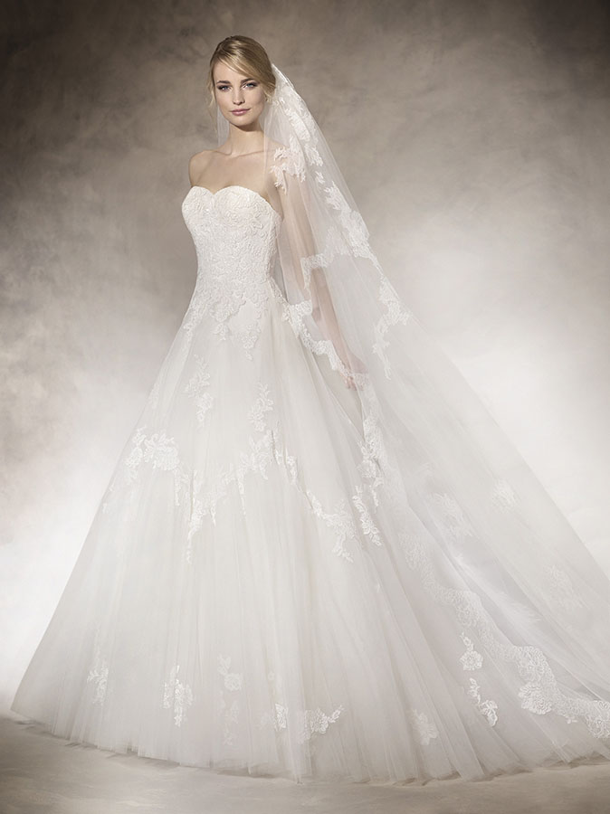 Vestiti da Sposa, Abito da Sposa Modello HALONA