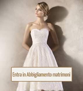 Abiti per cerimonia i nozze a Thiene Vicenza